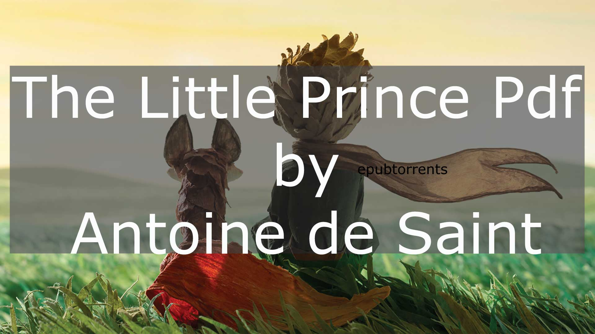 the litthel prince pdf free read online